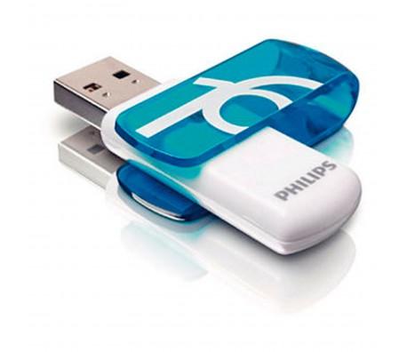 ФЛАШ ПАМЕТ PHILIPS VIVID 16GB USB2.0 СИН