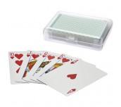 RENO PLAYING CARDS SET GREEN,TRANSPARENT