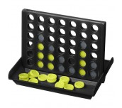 LUKE 4-IN-A-ROW GAME SOLID BLACK