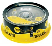 CD-R MAXELL 700MB 52X ШПИНДЕЛ 25 БР