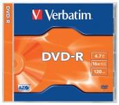 DVD-R VERBATIM 16X 4.7GB КУТИЯ