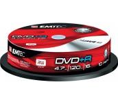 DVD+R EMTEC 16X, ШПИНДЕЛ 10БР