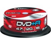 DVD+R EMTEC 16X, ШПИНДЕЛ 25БР
