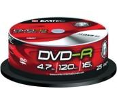 DVD-R EMTEC ШПИНДЕЛ 25БР