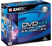 DVD+R EMTEC DUAL L.8X 8.5GB