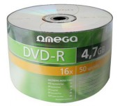 DVD+/-R OMEGA ШРИНК 50БР.
