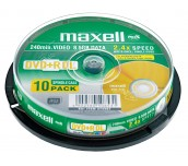 DVD+R DL MAXELL 8.5GB 10БР./ШПИНДЕЛ