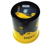 CD-R MAXELL 700MB 52X ШПИНДЕЛ 100 БР