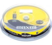 CD-RW MAXELL 700MB 12X ШПИНДЕЛ 10 БР