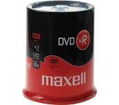 DVD-R MAXELL 4,7GB ШПИНДЕЛ 100БР.