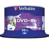 DVD+R VERBATIM 16X 4.7GB ШПИНДЕЛ 50 БР