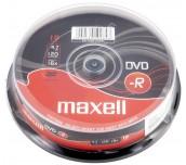 DVD-R MAXEL 4.7GB 10 БРОЯ В ШПИНДЕЛ