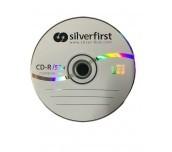 CD-R SILVER FIRST 700MB ОП.50 ШПИНДЕЛ