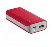 Външна батерия Trust 4400 червена