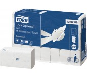 КЪРПИ РЪЦЕ TORK XPRESS SOFT MULTIF, H2 ADV 21БР.