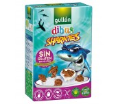 БИСКВИТИ GULLON SHARKIES 250G БЕЗ ГЛУТЕН