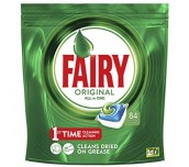 КАПСУЛИ ЗА СЪДОВЕ FAIRY ORIGINAL ALL IN ONE 84КАПСУЛИ 1134G