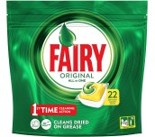 КАПСУЛИ ЗА СЪДОВЕ FAIRY ORIGINAL ALL IN ONE LEMON 297G
