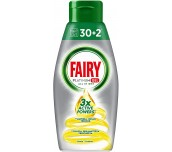 ГЕЛ ЗА СЪДОМИЯЛНА МАШИНА FAIRY PLATINUM 30+2 LIMONE 650 ML