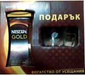 КАФЕ NESCAFE GOLD 200Г+ ЧАША