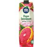 сок натурален BBB розов грейпфрут 60%