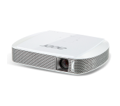 Projector Acer C205 LED, Resolution: (854x480), max. (1280x800), Format: 16:9, Contrast: 1 000:1, Brightness: 150 lumens, HDMI® / MHL, Wireless projection, Battery, Speakers, 30 000 h lamp life, Bag, 302 g