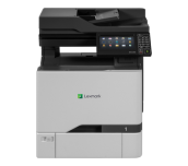 Special price for stock! Color Laser Multifunctional Lexmark CX727de 4in1; Duplex; A4; 1200 x 1200 dpi; 4800 CQ; 47 ppm; 2048 MB; RADF; capacity: 650 sheets; USB 2.0; Gigabit Ethernet (10/100/1000);  7'' colour touch screen, 150 000 pages/month