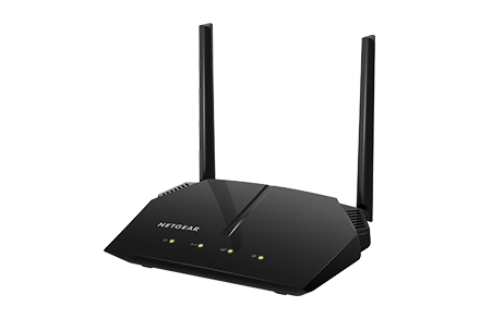 Рутер Netgear R6120, 4PT AC1200 (300 + 867 Mbps) WIFI Fast Ethernet Router with USB, ReadySHARE