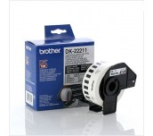 Brother DK-22211 White Continuous Film Tape 29mm x 15.24m