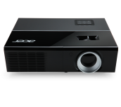 Projector Acer P1273B, DLP® 3D Ready, HDMI 3D, Resolution: XGA (1024x768), Format: 4:3, Contrast: 17 000:1, Brightness: 3 000 lumens, Input: HDMI®, 2xD-sub, RCA, S-video, 2xAudio In, 3xUSB, Output: D-sub, Audio Out, Acer ColorBoost II+, Acer ColorSafe II,