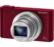 Sony Cyber Shot DSC-WX500 red