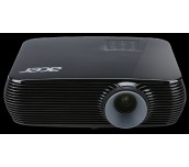 Projector Acer X1226H, DLP® 3D Ready, HDMI 3D, Resolution: XGA (1024x768), Format: 4:3, Contrast: 20 000:1, Brightness: 4 000 lumens, Input: HDMI®, HDMI/MHL,  D-sub, RCA, S-video, Acer ColorBoost II+, Acer ColorSafe II, Acer EcoProjection, ExtremeEco lamp