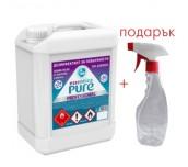 ДЕЗИНФЕКТАНТ ЗА ПОВЪРХНОСТИ Essentica Pure  5 ЛИТРА