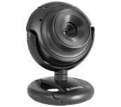 Defender Уеб-камера C-2525HD 2 MP, с бутон за снимки и вграден микрофон
