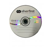 CD-R SILVER FIRST 700MB ОП.100 ШРИНГ