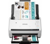 Scanner EPSON WorkForce DS-530, A4, Letter, 600 dpi x 600 dpi (Horizontal x Vertical), Input: 24 Bits Color, 50 Pages, Yes, Skip blank page, A3 stitching, Punch holes removal, Automatic de-skew, Automatic multi-document recognition, Dual Image Output (Win