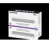 Суич Netgear GC110, 8 x 10/100/1000 Gigabit Cloud Smart switch and 2 SFP, auto VoIP and Video, ACL