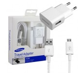 Samsung Travel Adapter 5V 2A, Flat TA, 5 pin (uUSB) Fixed White