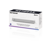 Суич Netgear GC510P, 8 x 10/100/1000 Gigabit Cloud Smart switch, 8 x PoE+ and 2 SFP, auto VoIP and Video, ACL (Up to 130W)