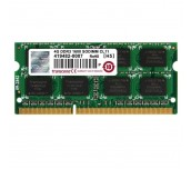 Transcend 4GB 204pin SO-DIMM DDR3 1600 1Rx8 512Mx8 CL11 1.5V