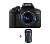 Canon EOS 750D TRAVEL KIT (EF-S 18-55 IS STM + EF-S 55-250mm f/4-5.6 IS STM)