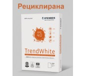 ХАРТИЯ КОПИРНА РЕЦИКЛИРАНА TREND WHITE А4 80Г