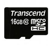 Transcend 16GB micro SDHC (No Box & Adapter, Class 10)