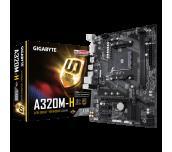 PROMO! MB GIGABYTE GA-A320M-H, AM4, DDR4, M.2, SATA 6Gb/s, DVI-D, HDMI
