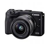Canon EOS M3 black +  EF-M 15-45mm IS STM black