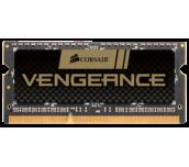 Памет Corsair DDR3, 1600MHz 8GB (1 x 8GB) 204 SODIMM, Unbuffered, 10-10-10-27, Vengeance, Black PCB, 1.5V, Intel 2nd Generation Intel Core™ ™ i5 and i7 Processor platforms only