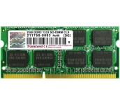 Transcend 2GB 204pin SO-DIMM DDR3 PC1333 CL9