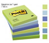 ЛИСТЧЕТА САМОЗАЛЕПВАЩИ POST-IT 76/76 654MTDR