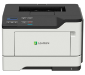 NEW Mono Laser Printer Lexmark MS321dn Duplex; A4; 1200 x 1200 dpi; 36ppm; 512 MB; 1.0 GHZ MHz; capacity: 350 sheets; paper output: 150 sheets; Gigabit Ethernet (10/100/1000), USB 2.0; 50 000 pages per month