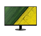 NEW! Monitor Acer SA270bid, (IPS), 27'' (69cm), Format: 16:9, Resolution: Full HD (1920x1080@60Hz), Non glare IPS, ZeroFrame, Response time: 4 ms (G to G), Contrast: 100M:1, Brightness: 250 cd/m2, Viewing Angle: 178°/178°, VGA, HDMI, DVI, ACM Acer Adaptiv